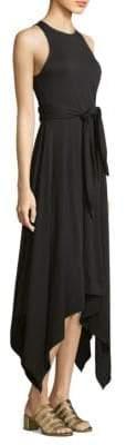 Joie Damonda Knot Waist Jersey Dress