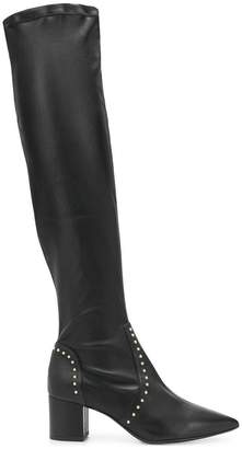 Fabio Rusconi pointed knee-length boots