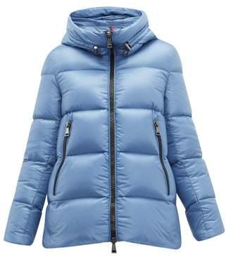 Moncler Seritte Down Jacket - Womens - Light Blue