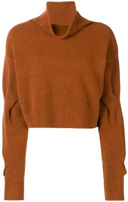 Alexander Wang cropped turtleneck jumper