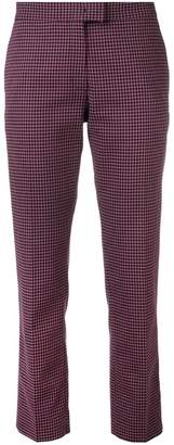 Paul Smith vichy checked trousers