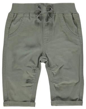 George Khaki Woven Trousers