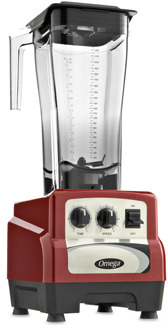 Bed Bath & Beyond Omega® BL490R 82-Ounce 3-HP Variable Speed Commercial Blender with Advanced Timer - Red