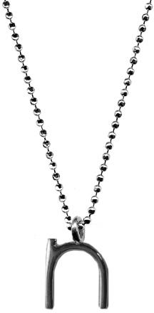 Ariel Gordon N Initial Pendant Necklace