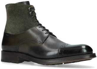 Bally Leather Lucien Boots