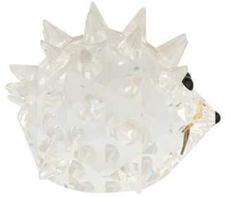 Swarovski Crystal Porcupine Figurine