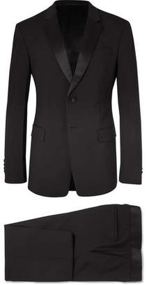 Prada Black Slim-Fit Silk Satin-Trimmed Virgin Wool-Blend Tuxedo