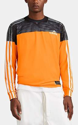 adidas by Alexander Wang Men's Photocopy Long-Sleeve Soccer Jersey - Orange