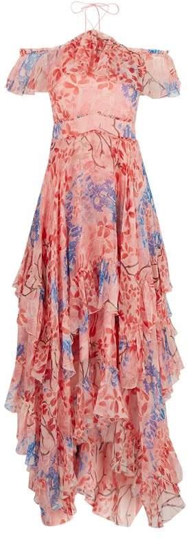 Galina Floral Maxi Dress