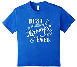 Best Gramps Ever T Shirt For Grandfather Grandpa