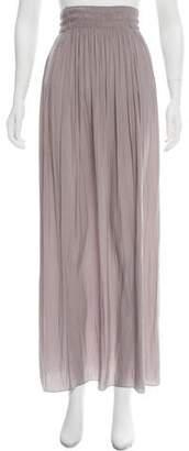 Ramy Brook Pleated Maxi Skirt