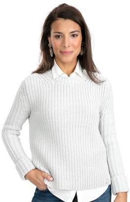 Barbour Barbour® Cloud Millie Crewneck Sweater $188 thestylecure.com