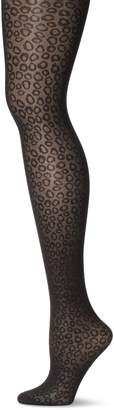 Pretty Polly Women's Plus-Size Curve Animal Squiggly Tights