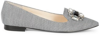 Libry bejeweled flat $69.95 thestylecure.com