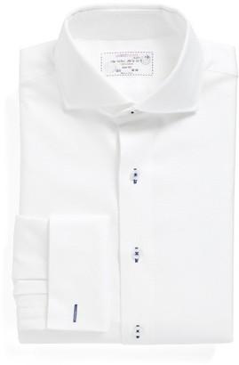 Men's Lorenzo Uomo Trim Fit Solid Dress Shirt $95 thestylecure.com