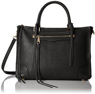 Rebecca Minkoff Regan Satchel Tote Shoulder Bag $325 thestylecure.com