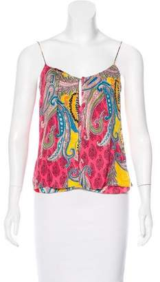 Christian Lacroix Sleeveless Printed Top
