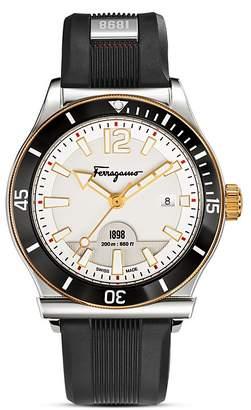 Salvatore Ferragamo 1898 Sport Stainless Steel Watch, 43mm