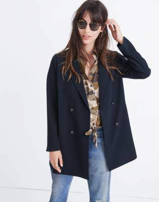 Madewell Caldwell Double-Breasted Blazer