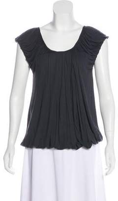 Stella McCartney Ruched Bamboo Top