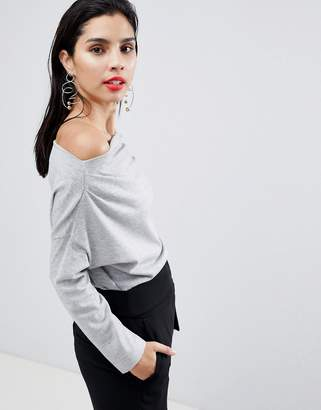 Sisley 3/4 Sleeve Knit Top