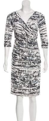 Diane von Furstenberg Bentley Silk Printed Dress