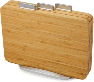Joseph Joseph JJ Index Four-Piece Bamboo Chopping Board Set