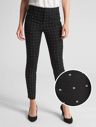 0f7a5485d85cf Skinny Trousers Black And White Print - ShopStyle UK