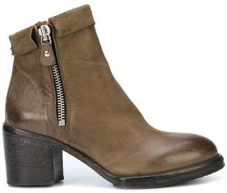 Moma mid heel ankle boots
