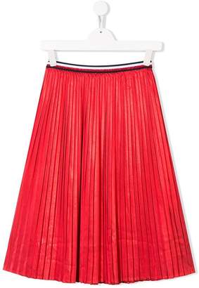 Tommy Hilfiger Junior TEEN pleated long skirt