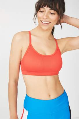Cotton On Body Workout Yoga Crop Bra