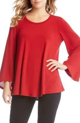 Karen Kane Bell Sleeve Swing Sweater