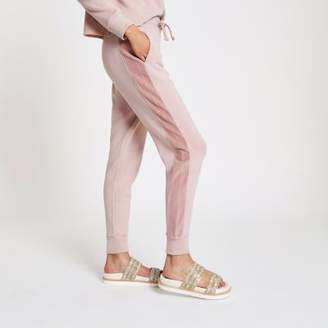 River Island Womens Light pink loose fit joggers