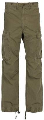 Rrl - Cotton Cargo Trousers - Mens - Khaki