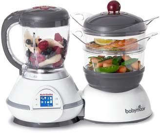 Babymoov Nutribaby Multi-Function Baby Food Processor Steamer Blender and Steriliser