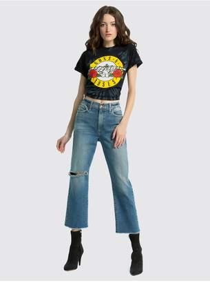 Alice + Olivia Shira Guns N Roses Tie Dye Tee