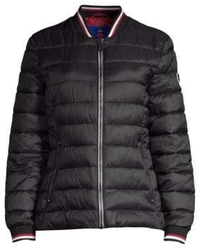 Moose Knuckles Sauve Quilted Bomber Jacket