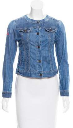 Catimini Embroidered Denim Jacket
