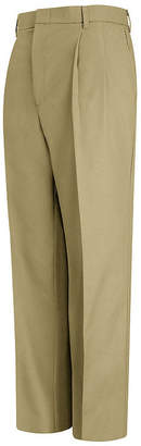 JCPenney Red Kap Pleated Twill Pant-Big & Tall