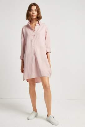 French Connenction Caspia Linen Shirt Dress