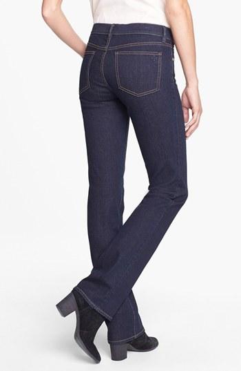 Tory Burch Stretch Straight Leg Jeans