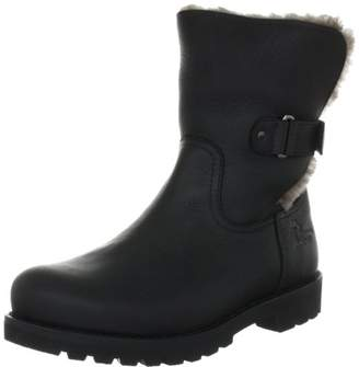 Panama Jack Womens PT100348 Warm lined biker boots half length Size: 7 UK