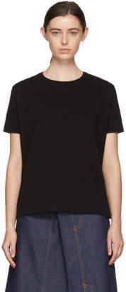 MM6 MAISON MARGIELA Black Slubby T-Shirt