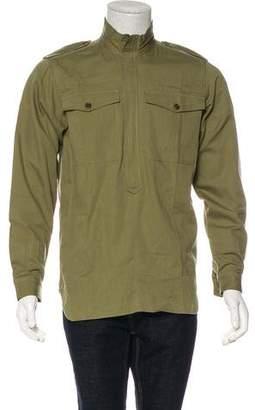 Dries Van Noten Utility Zip-Up Shirt