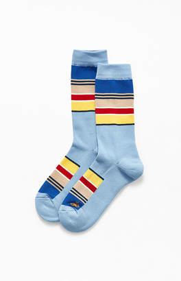 Pendleton Yosemite Striped Crew Socks