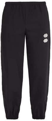 Off-White Off White Logo Track Pants - Mens - Black