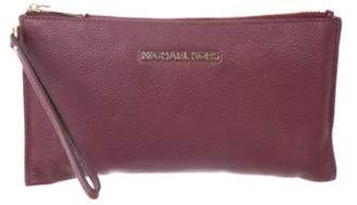 MICHAEL Michael Kors Grained Leather Pouch