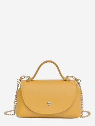 Shein Flap Satchel Bag
