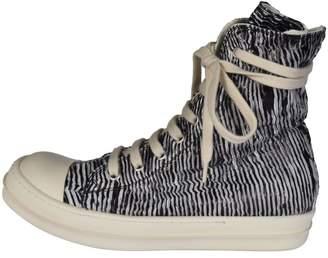 Drkshdw Metallic Zip Hi Top Sneakers