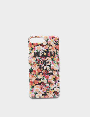 Moschino Iphone 8+ Cover in Multicolour PVC